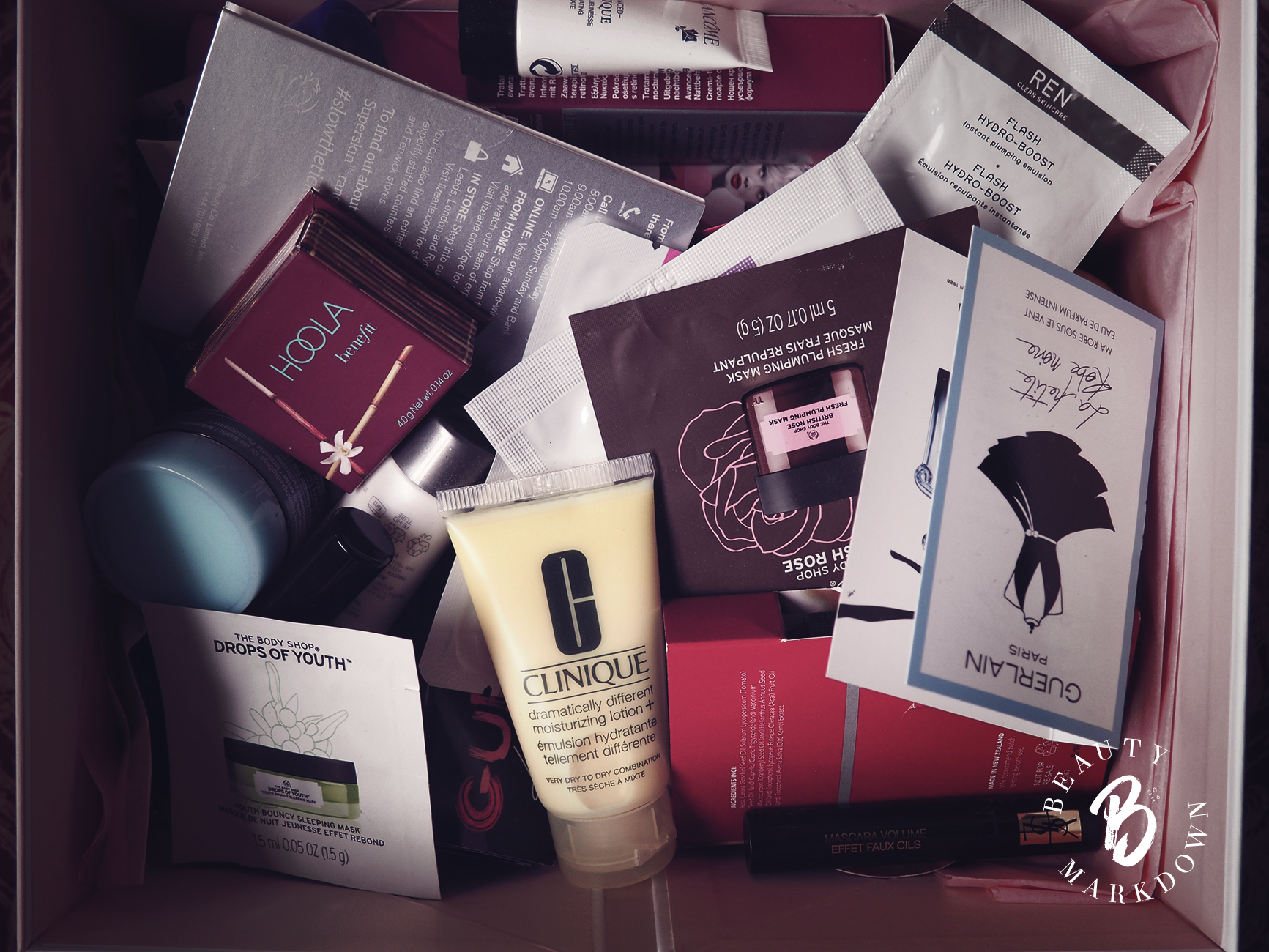 makeup samples skincare