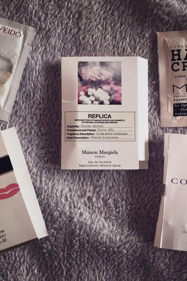 feelunique samples - shiseido prada mor connock replica