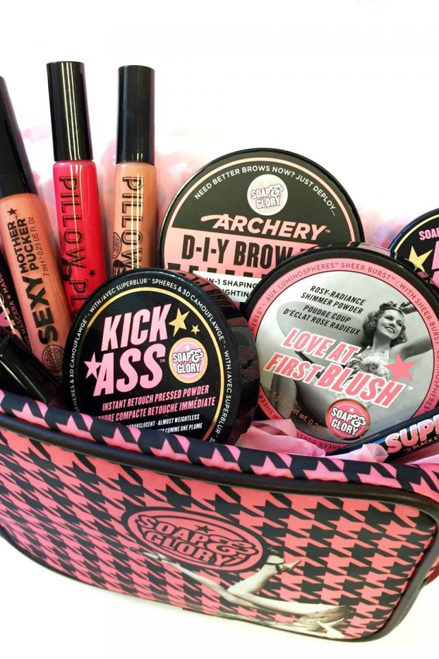 Soap & Glory gift bag
