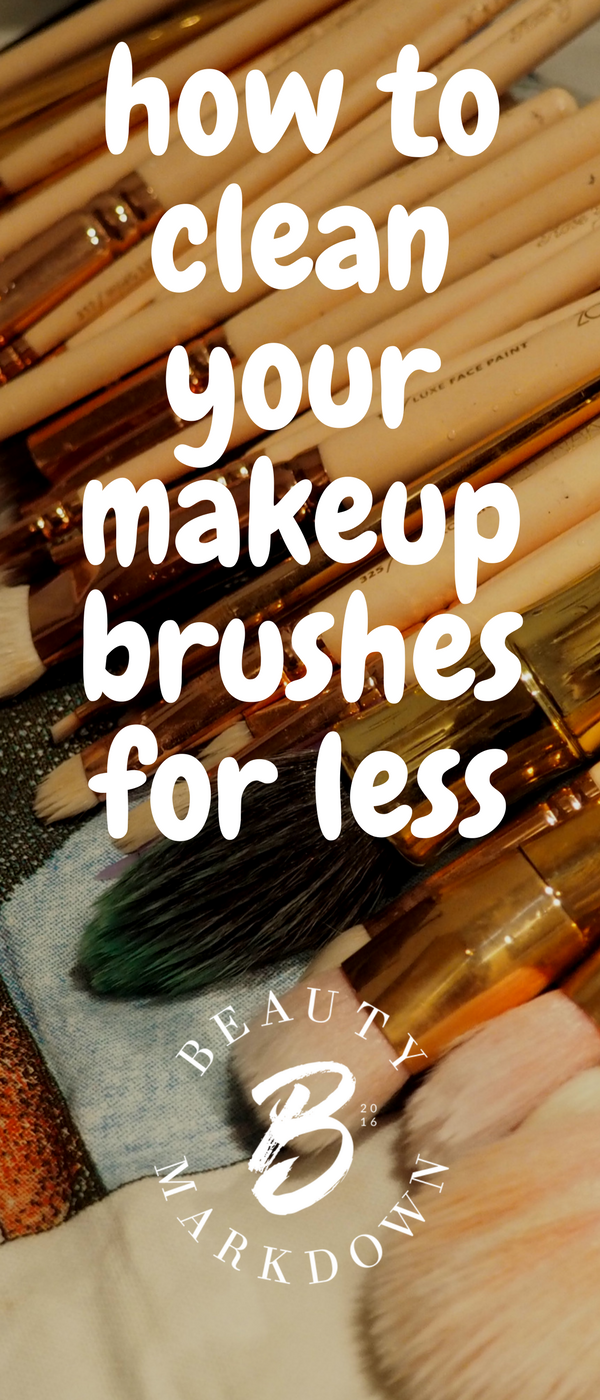 How to clean your makeup brushes on a budget - plus dupes for branded brush cleaning mats and more.