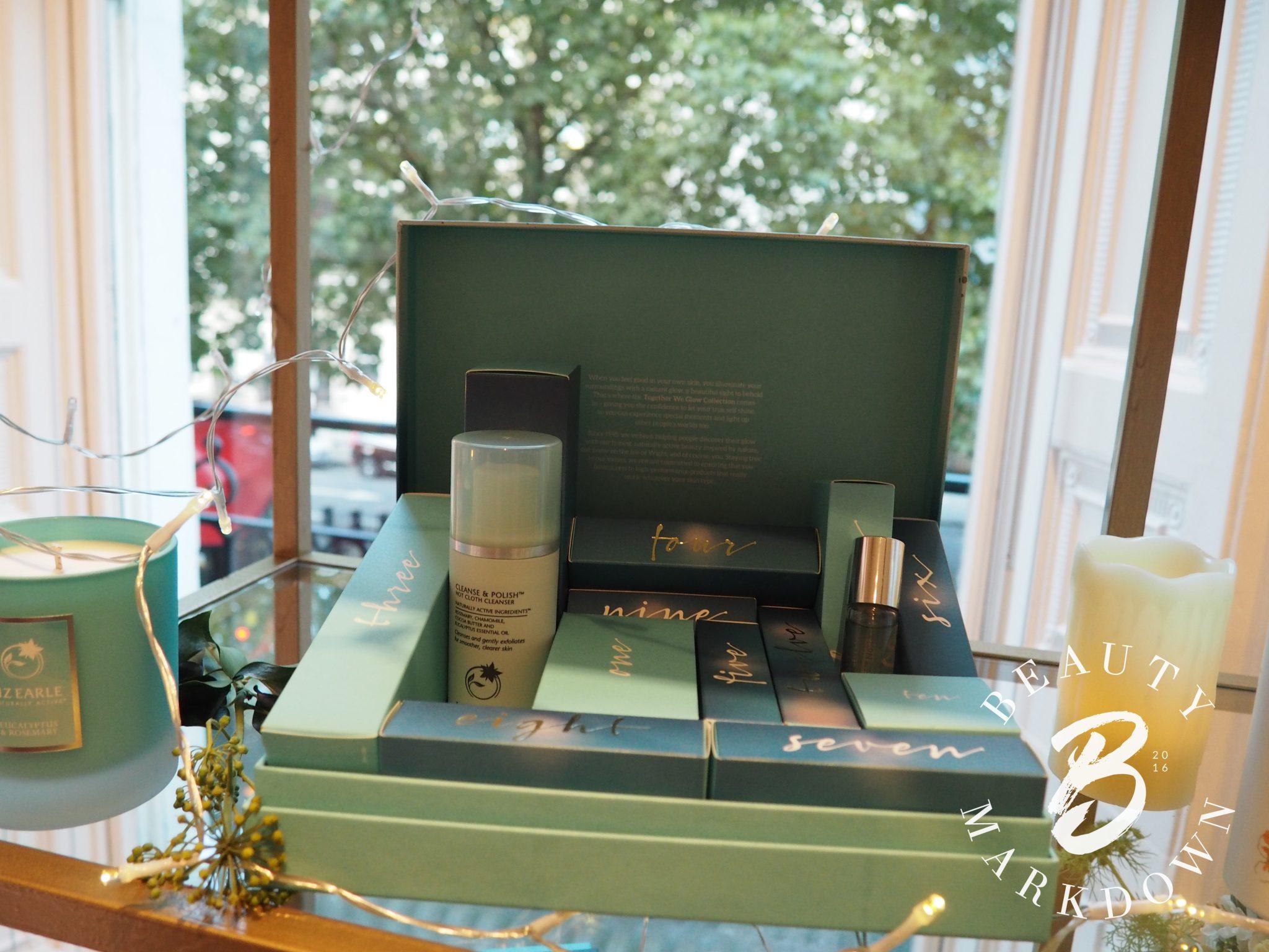 Liz Earle Advent calendar 2017 beauty skincare