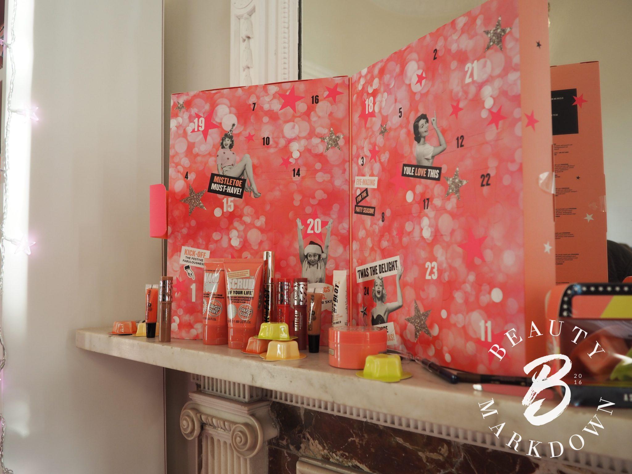 Soap & Glory advent calendar 2017 Boots
