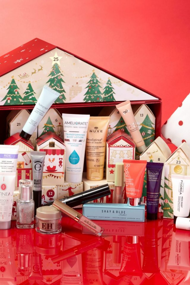 marks and spencer beauty advent calendar 2017 beauty markdown