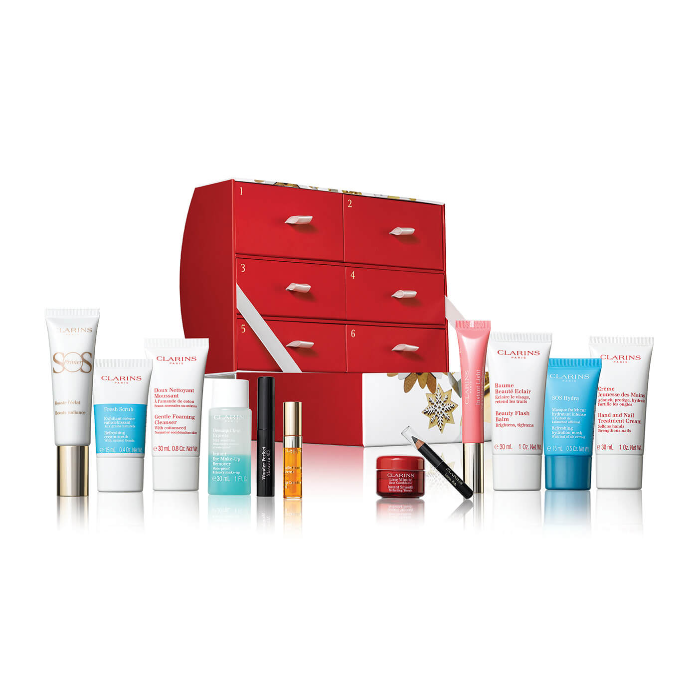 Clarins 12 Days of Christmas Advent Calendar for Women