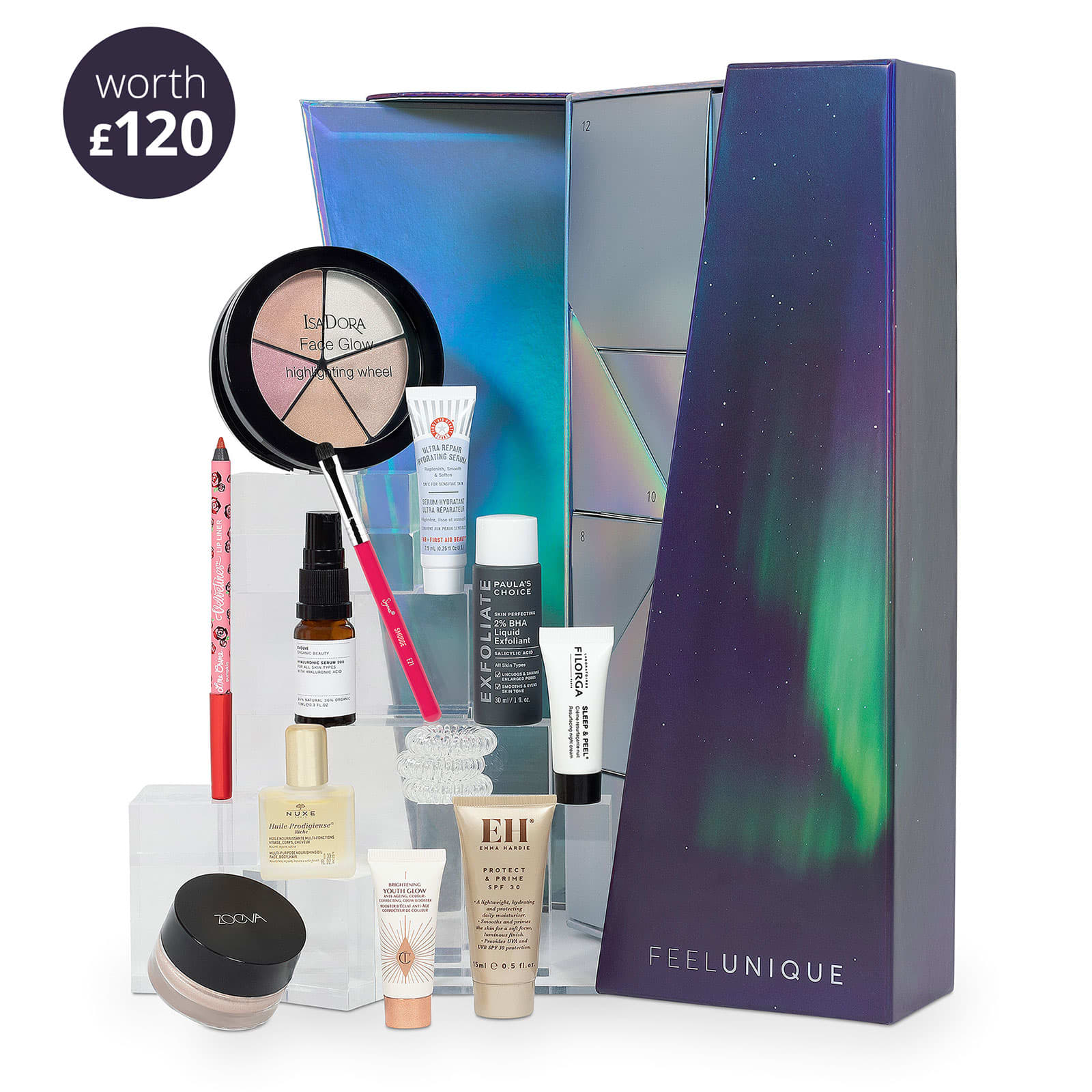 Feelunique 12 Day Beauty Advent Calendar 2019