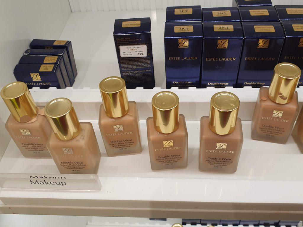 Double wear cosmetics company store