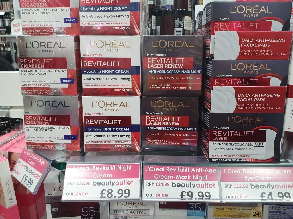 L'Oreal Outlet London UK